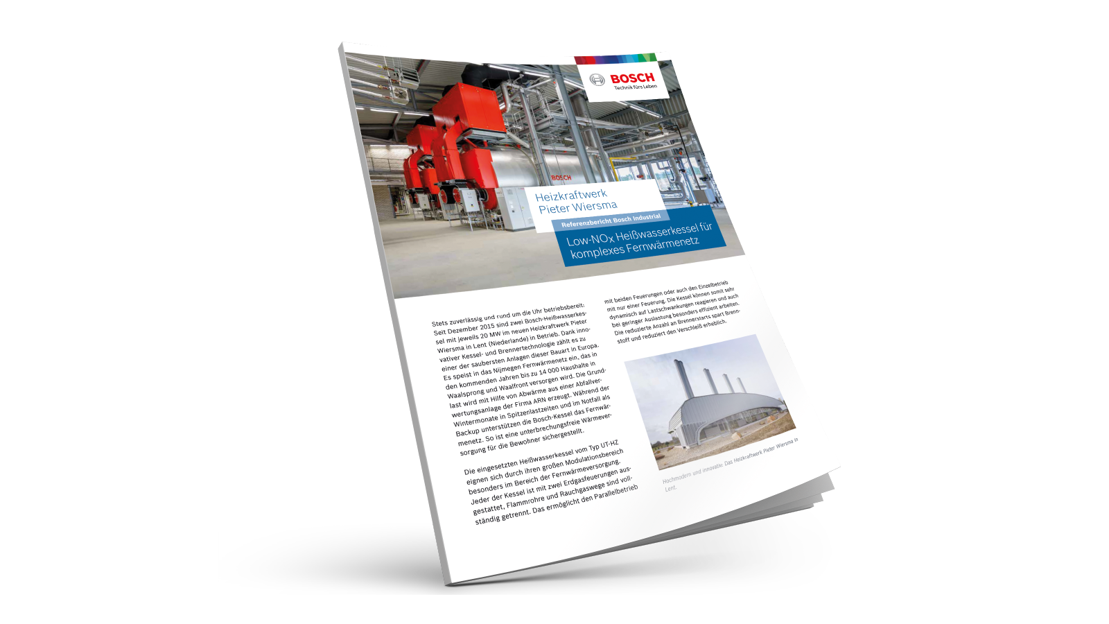 Low-NOx boilers for district heating network in the Netherlands