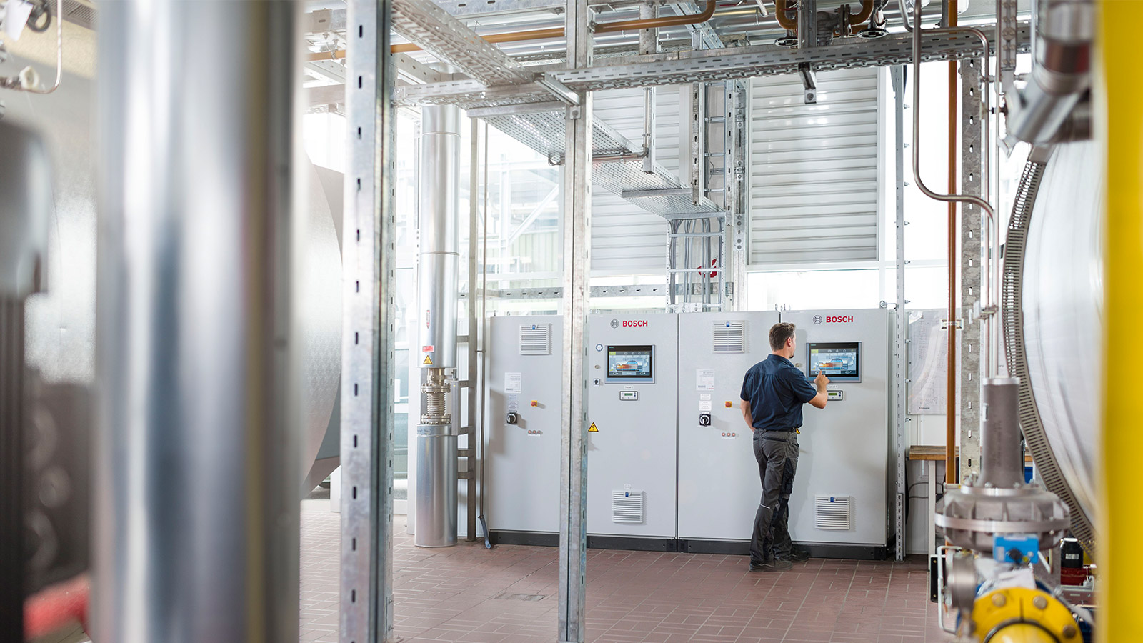 Commissioning, maintenance services, regular boiler inspections