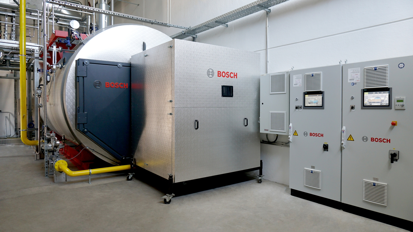 Bosch boiler technology reduces CO2 emissions by 15 percent