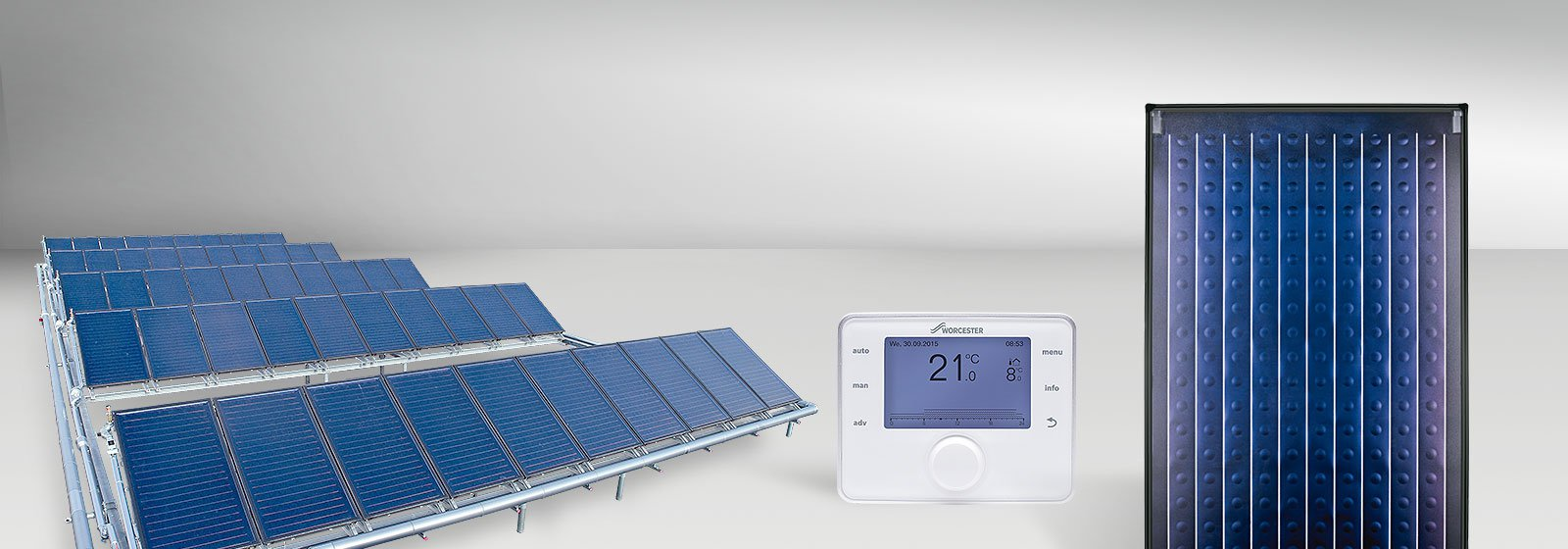 Components for solar thermal