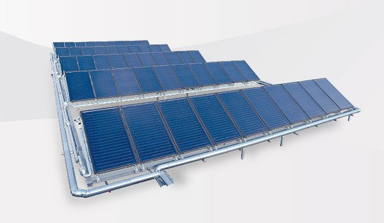 Large solar thermal plants