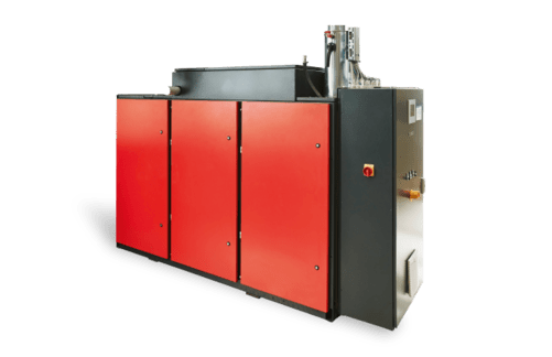 Compressed air and heat system